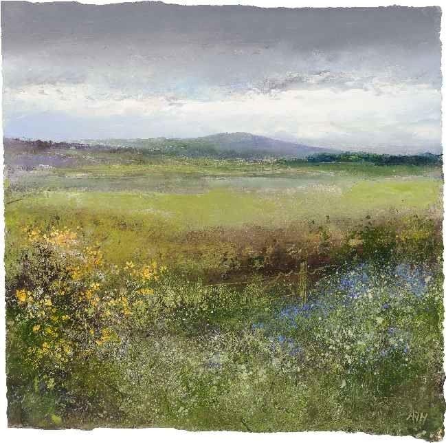 Amanda Hoskin - Trencrom Hill - Oil on paper