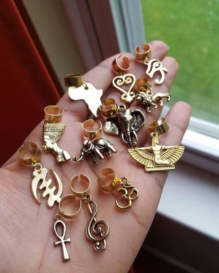 Loc jewelry by @gwanloc