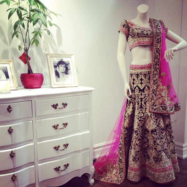 The #CTCWest Real Royalty #bridal #lehenga