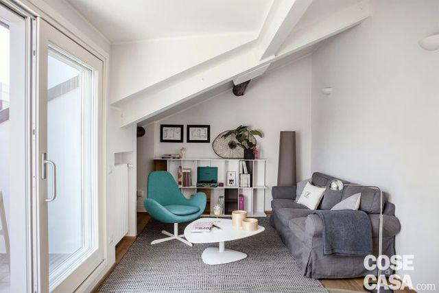 En Italie, deux chambres de bonnes font un appartement