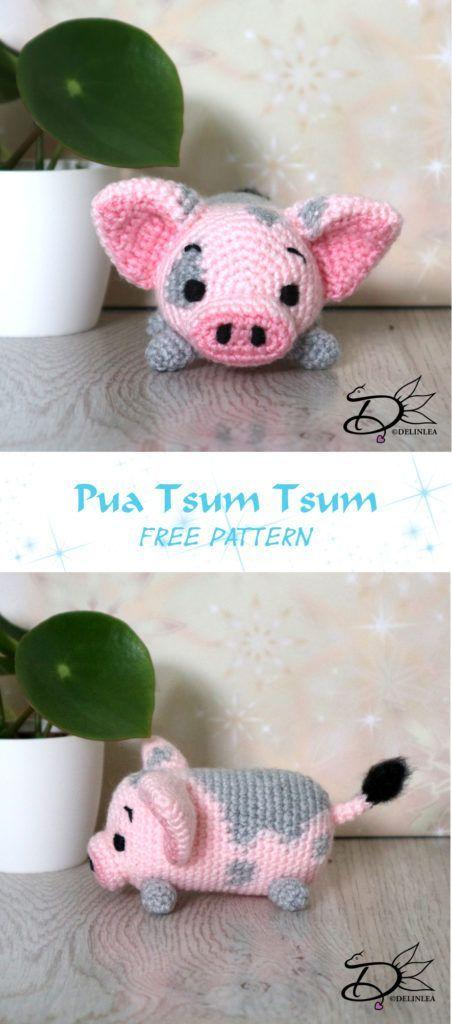 ♥ Pua Tsum Tsum Amigurumi - Delinlea - My little fantasy world ...