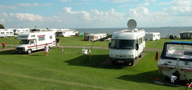 Camping & exklusive Ferienwohnungen direkt an der Ostsee