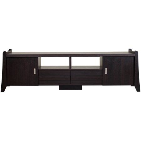 Furniture of America Moore 70-Inch TV Stand, Espresso
