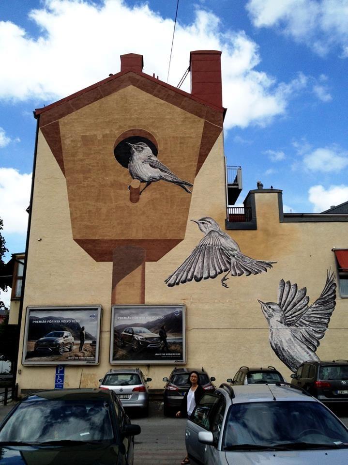 Best Street Art Images On Pinterest Urban Art Street Art - Spanish street artist transforms building facades into amazing artworks