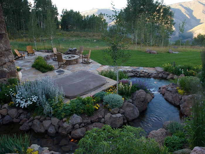 17 Best images about Landscape Styles on Pinterest | Rocky ... on Mountain Backyard Ideas id=68612