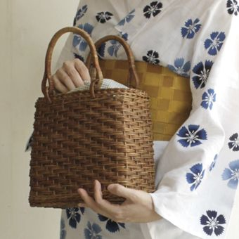 [Envelope Online Shop] trapezoid basket bag KOHORO