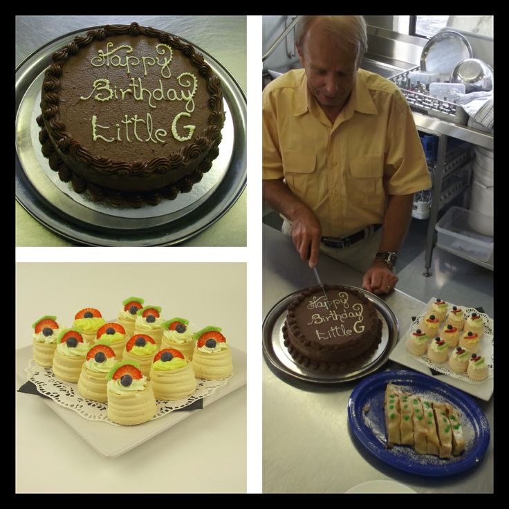 Eden Catering | A big happy birthday to our Little G! A.K.A G-man, G-Unit, G6, G-Spot, Gert and or whatever else he gets called