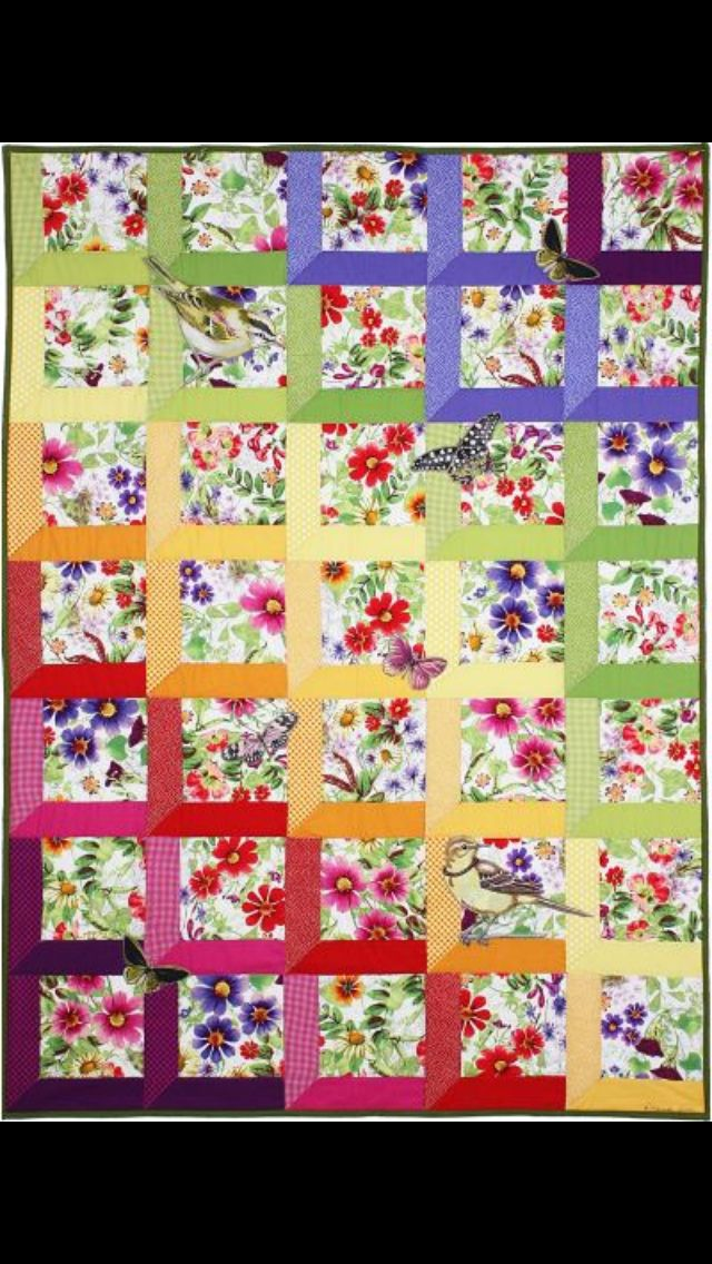 Quilt idea for the girls