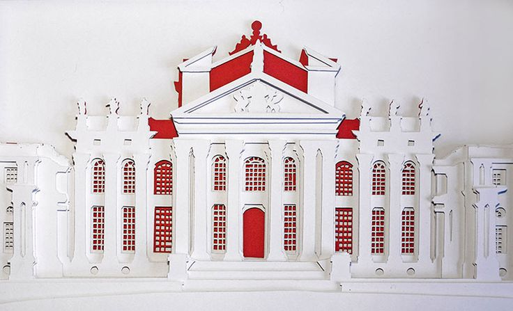 Junction Art Gallery - Kate Hipkiss 'Blenheim' papercut