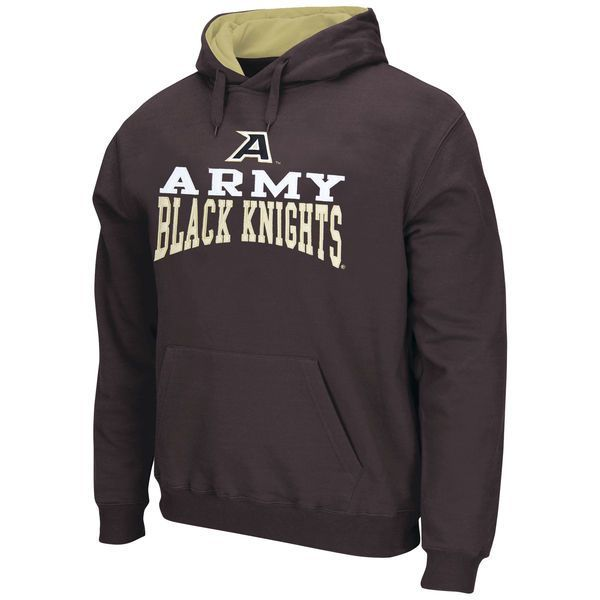 Army Black Knights Logo & Arch Pullover Hoodie - Charcoal - $34.99