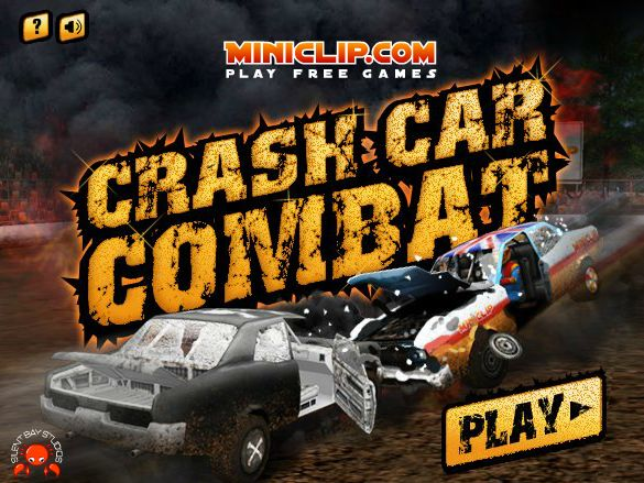 Play #CarCrashCombat. Get behind the wheel and challenge your opponents in a crash car combat.
