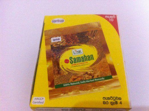 Samahan Ayurveda-Kräuter Ceylon Tee 10 paket