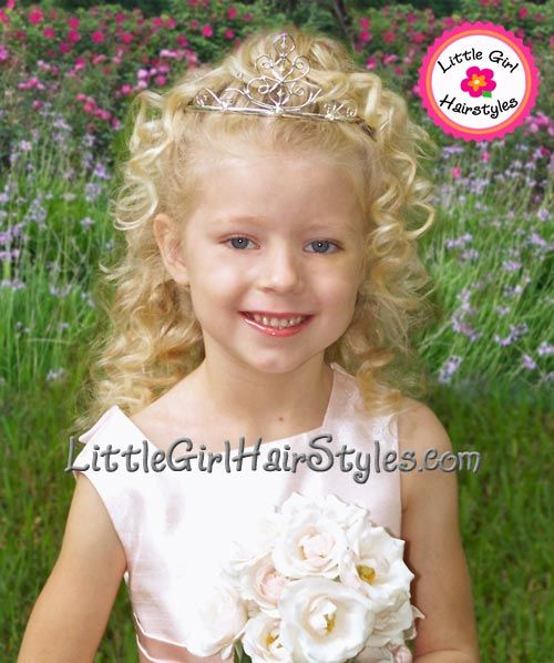 Natural hairstyle ideas for little girls - perfect for pageants!