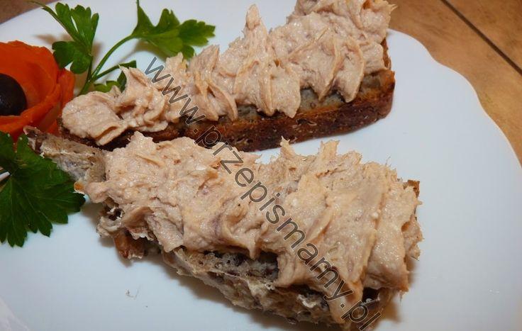 www.przepismamy.pl: Pasta z tuńczyka i jajek