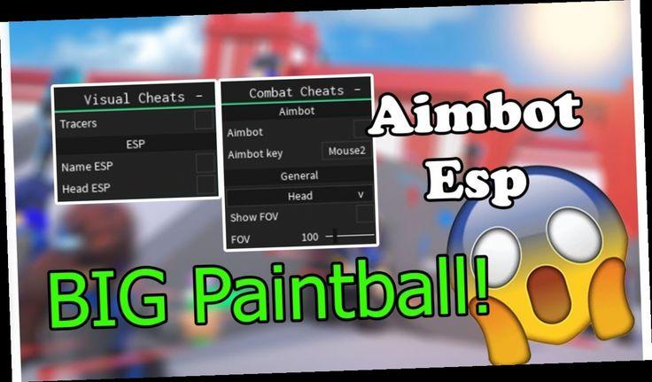 hack para paintball roblox