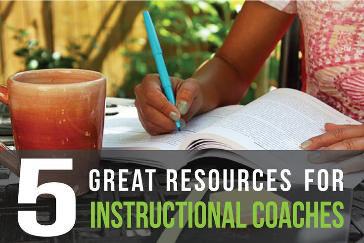 Top 5 Resources for Instructional Coaches. Plus a Few More Good Ones.