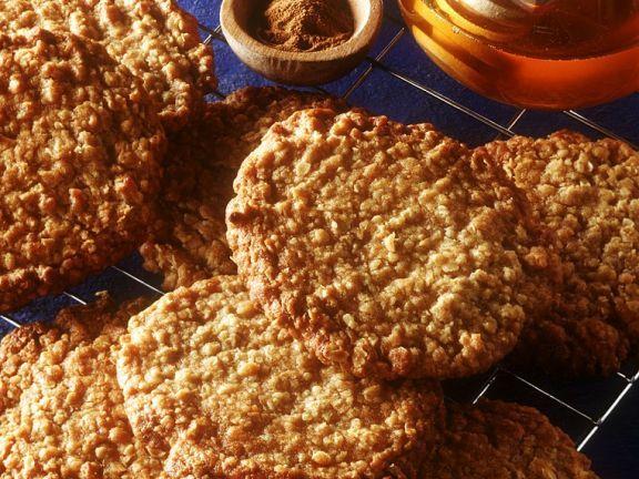 Haferflocken Cookies ist ein Rezept mit frischen Zutaten aus der Kategorie Getreide. Probieren Sie dieses und weitere Rezepte von EAT SMARTER!