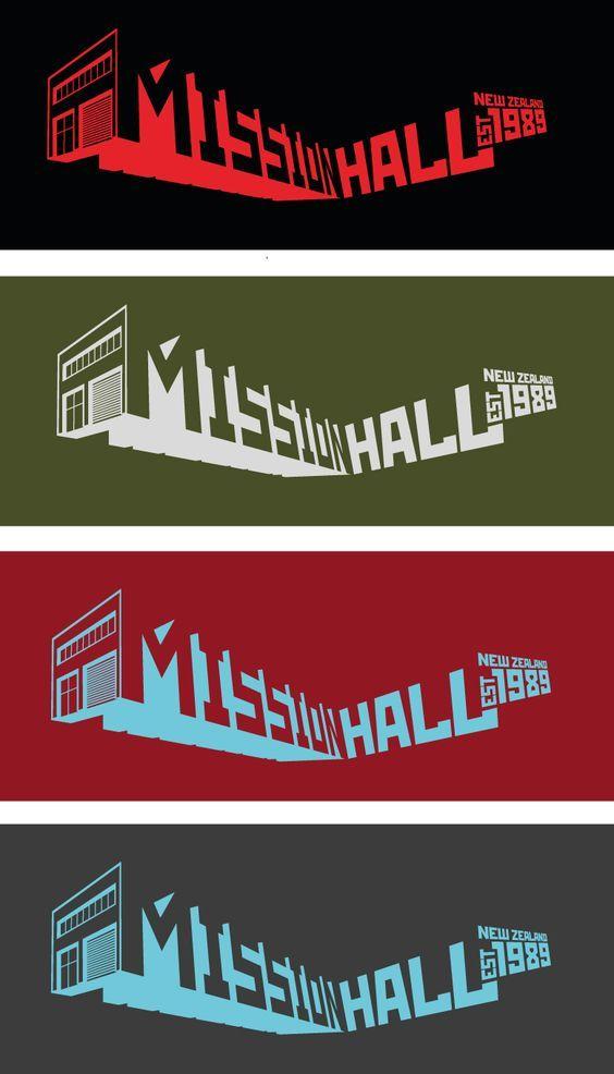 Mission Hall Building - Customs graphic celebrating our studio shop.