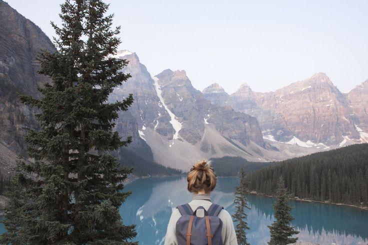 Roadtrip au Canada – Découvrir le lac Louise & le lac Moraine