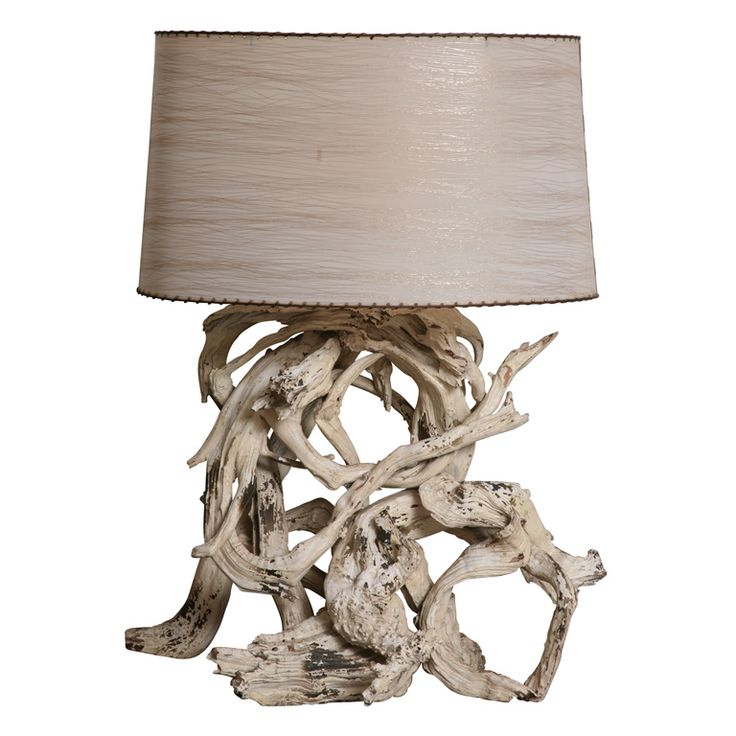 vintage driftwood lamp driftwood lamp tables and modern table lamps. Black Bedroom Furniture Sets. Home Design Ideas