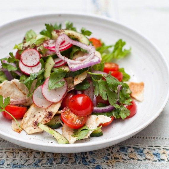 Harry Eastwood's Lebanese Fattoush Recipe - Salad recipes - Woman And Home