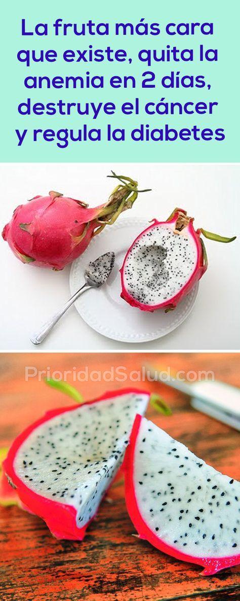 La fruta más cara del mundo, la pitaya, quita la anemia en 2 días, destruye el cáncer y regula la diabetes.