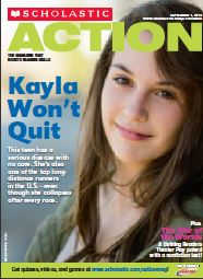 The September Issue of Action Magazine is hot off the presses. Download your copy on the READ 180 Community: http://educatorcommunity.scholastic.com/resource/scholastic-action-magazine-true-teen-story-teen-runner-with-multiple-sclerosis