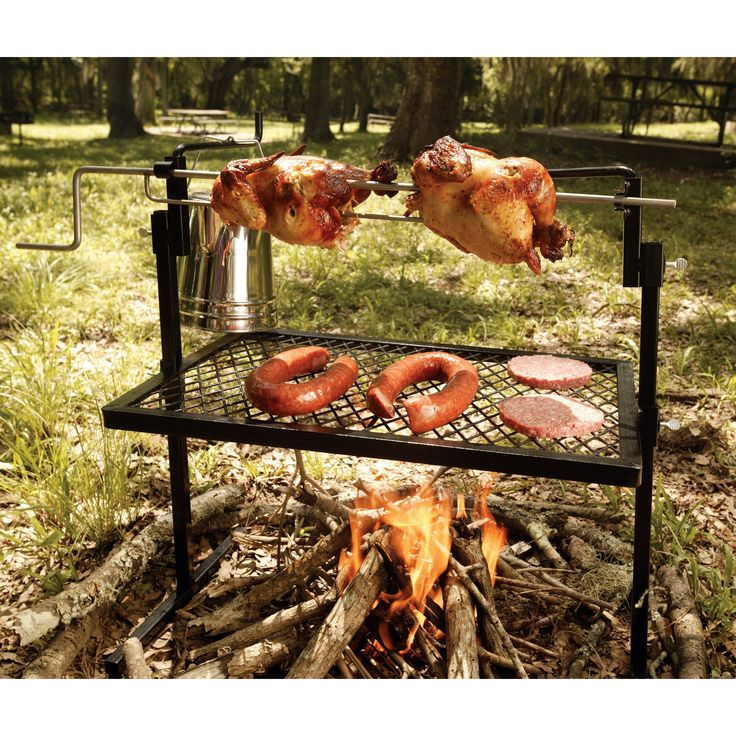 Have to have it. Texsport Rotisserie Grill and Spit $62.99