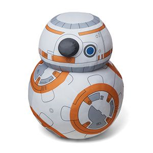 This Life Size BB-8 Plush promises not to go on its merry way before you get a hug in.