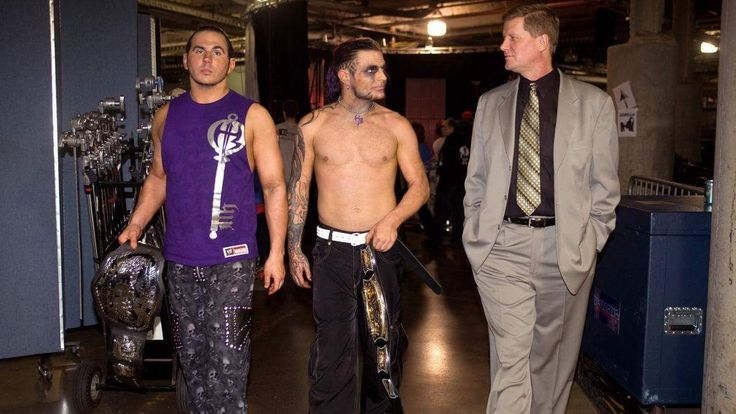Matt, Jeff Hardy, John Laurinaitis