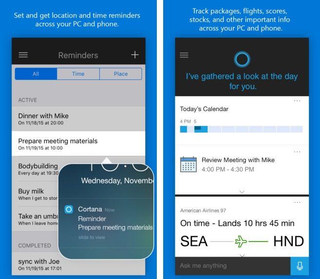 Microsoft Launches Official 'Cortana' App for #iOS & #Android Devices. #ConfigureIT