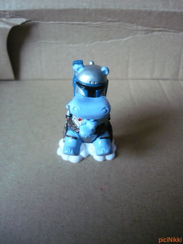 No. 10 | víziló | hippo | Happy Hippo | Kinder | Jango Jet | Star Wars