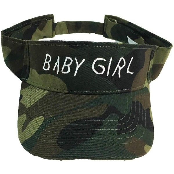 Baby Girl Visor (£21) ❤ liked on Polyvore featuring hats and head accessories
