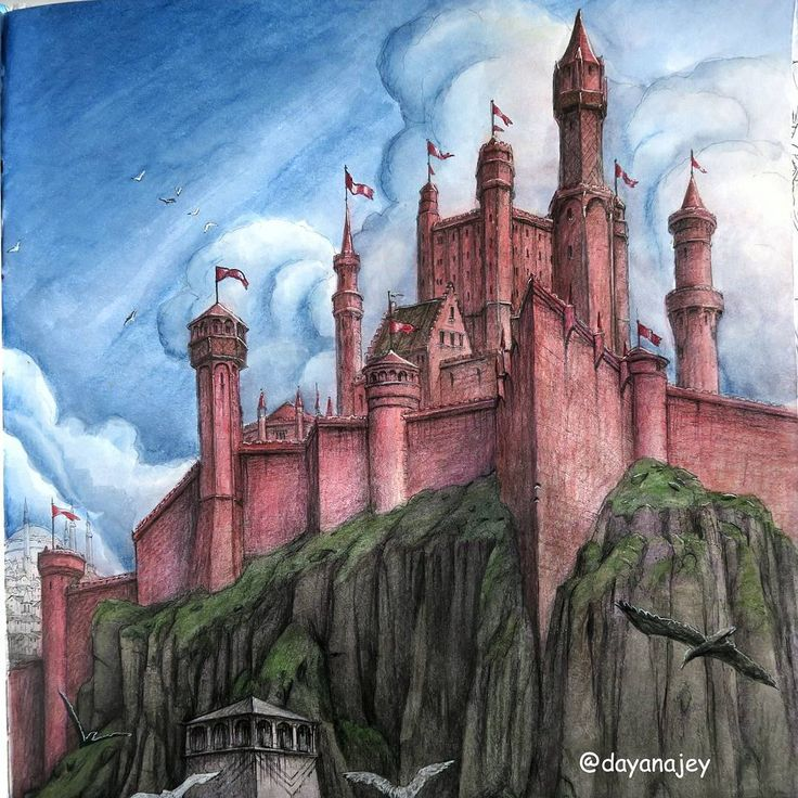 Dayana Jey On Instagram The Game Of Thrones Coloring Book For