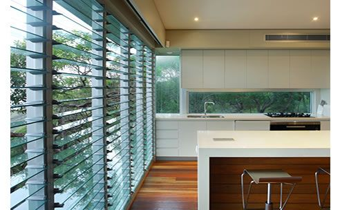 timber casement for louvre windows