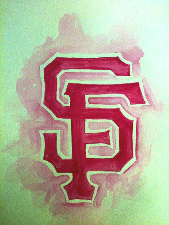 San Fransico Giants for the Ladies  Print by BellaNet on Etsy, $10.00