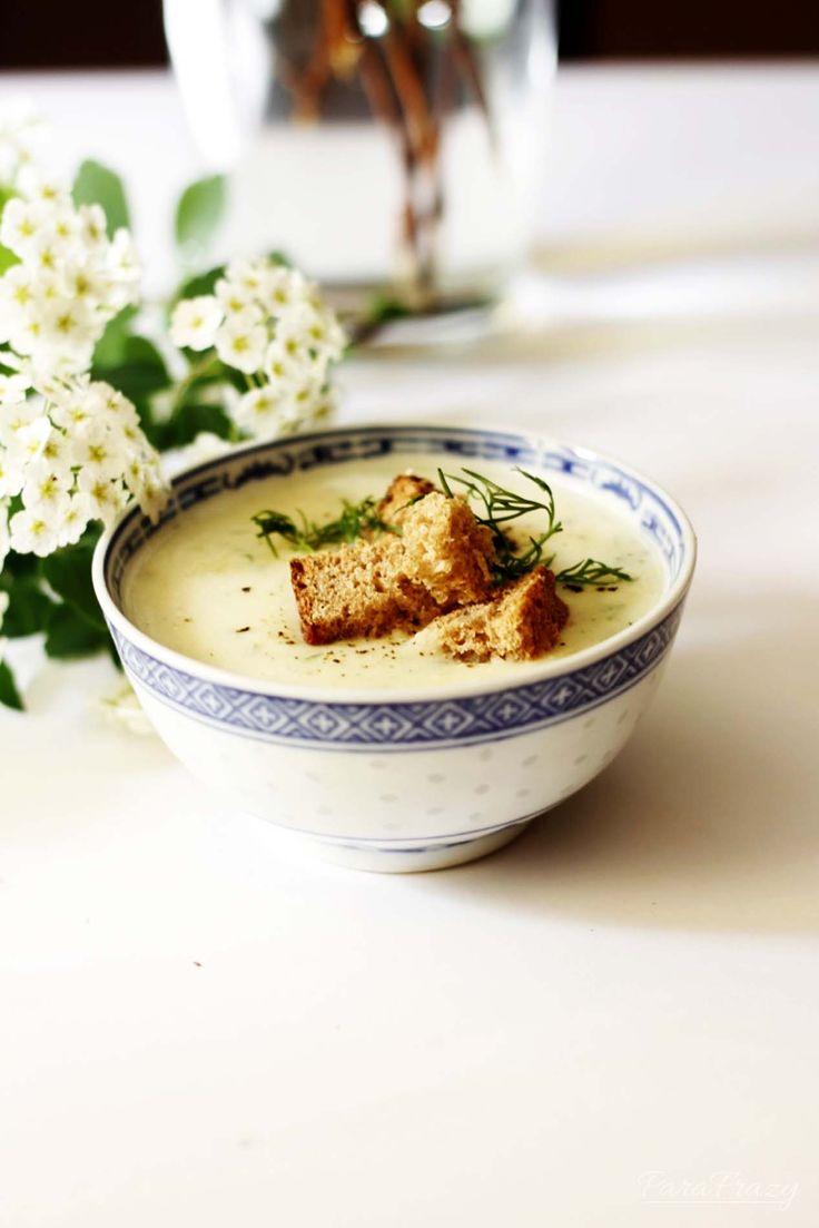 #asparagus #soup #cream #milk Pyszny krem szparagowy na mleku :) http://parafrazy.pl/krem-szparagowy-na-mleku/