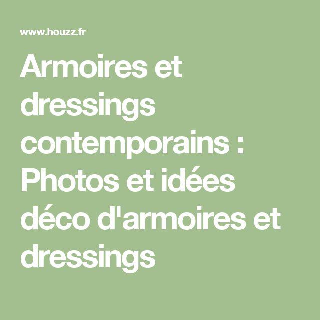 Armoires et dressings contemporains : Photos et idées déco d'armoires et dressings