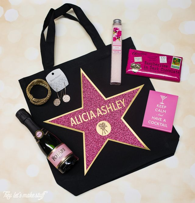 Hollywood Walk Of Fame Swag Bags Theme Party Ideas Pinterest Oscar And