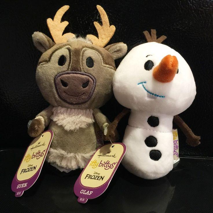 Hallmark Sven and Olaf Disney Frozen Itty Bittys #ittybittys @influenster @hallmark