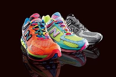 Rainbow Shoes from NB