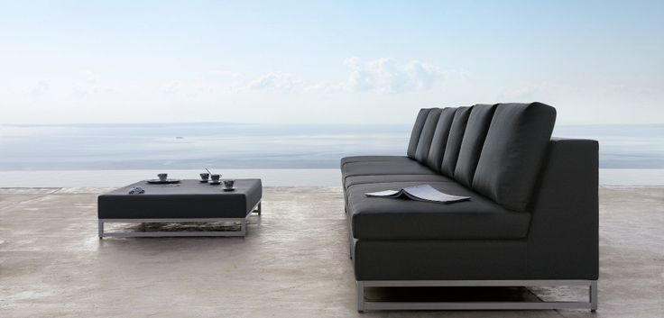 Gorgeous modern furniture designed by Manutti. #outdoor #modern #furniture #design