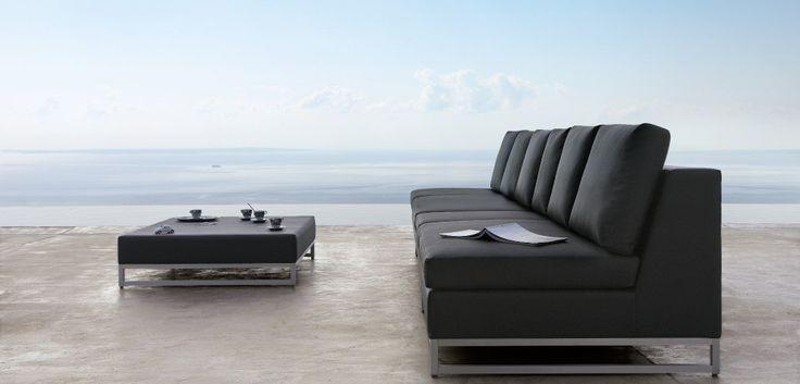Gorgeous modern furniture designed by Manutti. #outdoor #modern #furniture #design