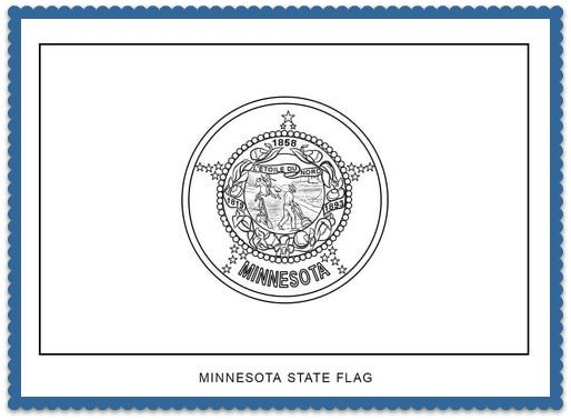 150 best usa state flags images on pinterest states for Minnesota state flag coloring page