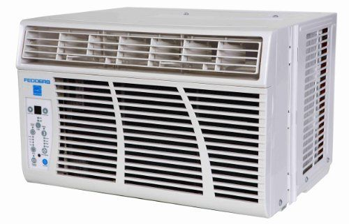 Fedders AZ7R08F2A White 8000 BTU 10.8 SEER Energy Star Window Air Conditioner with Full Function Remote Control AZ7R08F2A by Fedders. $332.00. 8000 BTU 10.8 SEER Energy Star Window Air ConditionerFull function remote control24 hour timer on-offSleep modeEnergy Saver modeLED displayC/F display changeFilter check (250 hours)Auto-restart FunctionOperation Modes: Cool/Fan/Dry/AutoEasy mount window kit