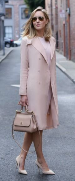 TRENCH: TY-LR | DRESS: Susana Monaco | SUNGLASSES: Ray-Ban | PUMPS | BAG || MEMORANDUM, formerly The Classy Cubicle #trench