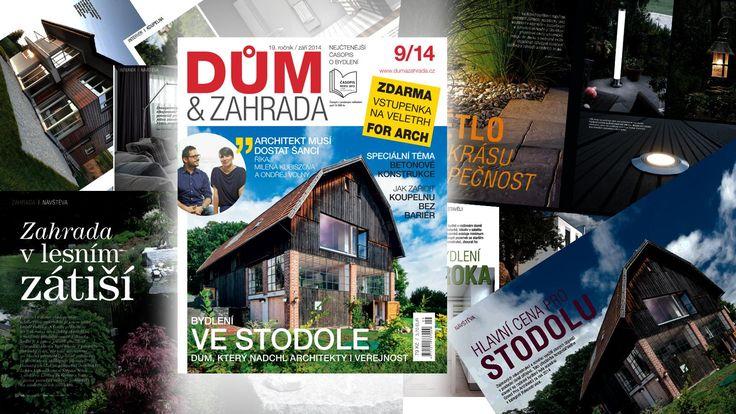 Vyšlo deváté číslo časopisu Dům&Zahrada roku 2014   Dům a zahrada - bydlení je hra