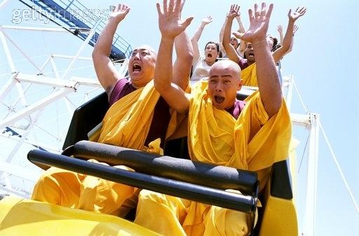 Image result for monks roller coaster
