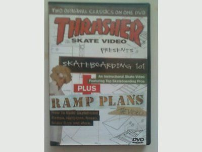 Books and Video 58128: Thrasher Skate Video Presents: Skateboarding 101 And Ramp Plans -> BUY IT NOW ONLY: $40.32 on eBay!