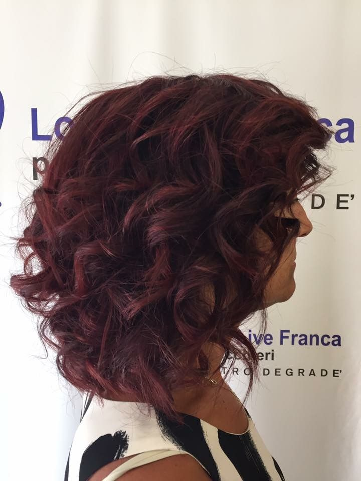 Nuovo look estivo per la nostra Gianna #lookliveparrucchierafranca #capelli #ragusa #davines #bcorp #sustaineblebeautypartner #viadeimirti29 #viola #colorarechepassione #estate2017